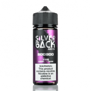 BooBoo By Silverback Juice 120ml