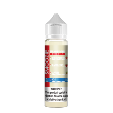 Strawberry Gone WIld Ice By Smoozie Premium Eliquids