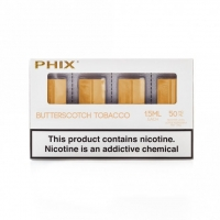Tobacco Butterscotch Pods By Phix Vapor