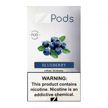Blueberry Juul Pods By Ziip Labs