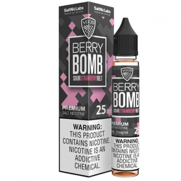 Berry Bomb Salted Nicotine By Vgod E-Liquid