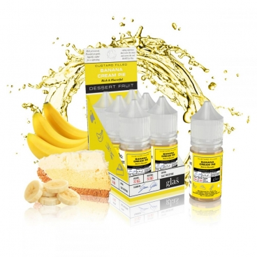 BANANA CREAM PIE BY BASIX NIC SALTS BY GLAS