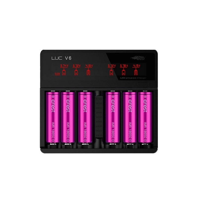 Efest LUC V6 LCD Multi-Function Charger