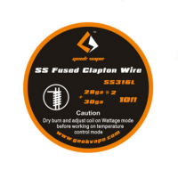 Geek Vape Fused Clapton SS316 Tape Wire