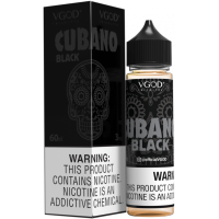 CUBANO BLACK EJUICE By VGOD