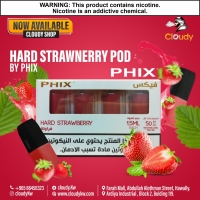 Hard Strawberry Pods By Phix Vapor