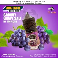 Groovy Grape Salt Nic By Tropican E-Liquids