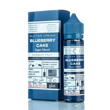 Blueberry Cake Basix Series By Glas Eliquid