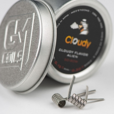 Cloudy Flavor Alien By GM Coils